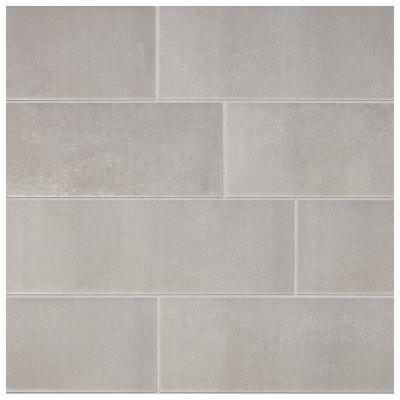 Modern Renewal Iron 4-1/4 in. x 12 in. Glazed Ceramic Wall Tile (10.64 sq. ft. / case)