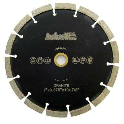 7 in. Crack Chaser Diamond Blade for Concrete Repair