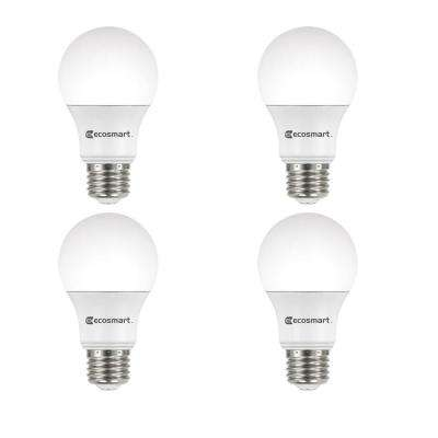 60-Watt Equivalent A19 Dimmable Energy Star LED Light Bulb, Daylight (4-Pack)