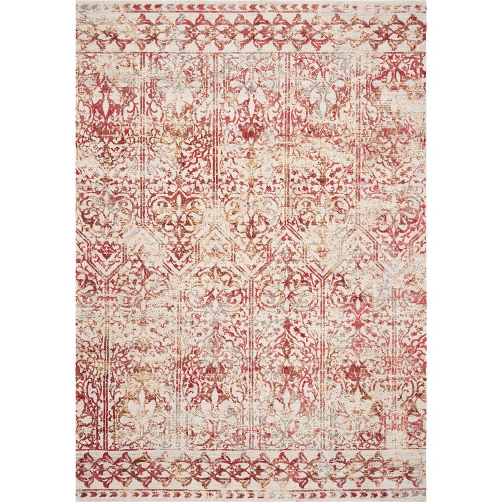 Empire Red Marrakesh 8 Ft X 11 Vintage Area Rug