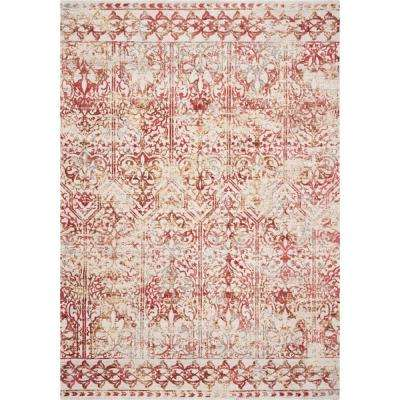 Empire Red Marrakesh 9 ft. x 13 ft. Vintage Area Rug