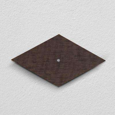 Silva 13-Watt Dark Wood Painted Motion Activated Integrated LED Sconce
