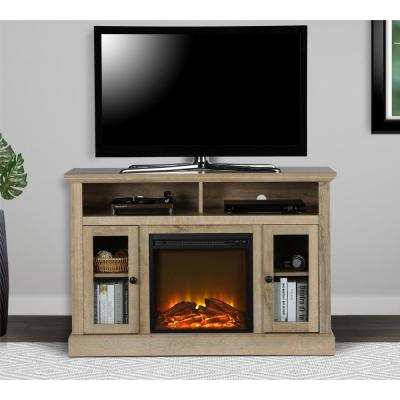 50 in. Nashville Natural TV Console with Electric Fireplace