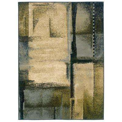 Evanston Taz Blue 5 ft. x 7 ft. Area Rug