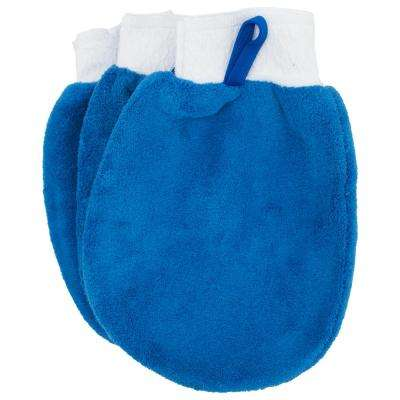 Multi-Purpose Microfiber Cleaning Mitts (3-Pack)