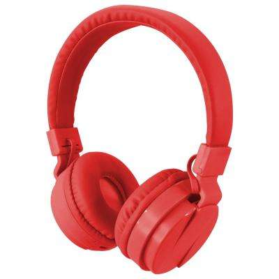 Bluetooth Wireless Headphone, Red