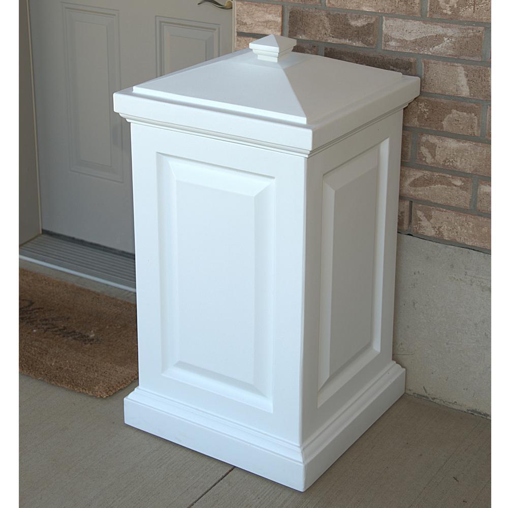 45 Gal. Berkshire Storage Bin in White