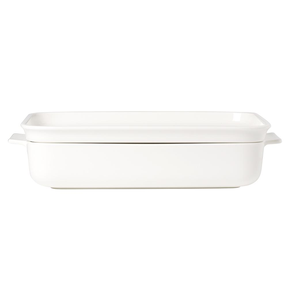 Clever Cooking 2-Piece 11.75 in. Rectangular Casserole Dish with Lid