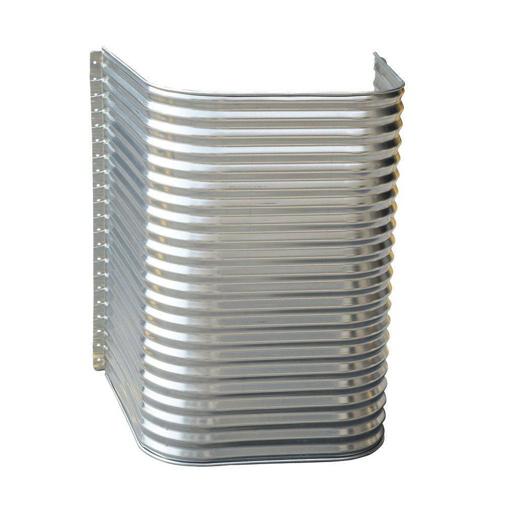 Amerimax Home Products 48 In X 36 In X 42 In Galvanized Egress