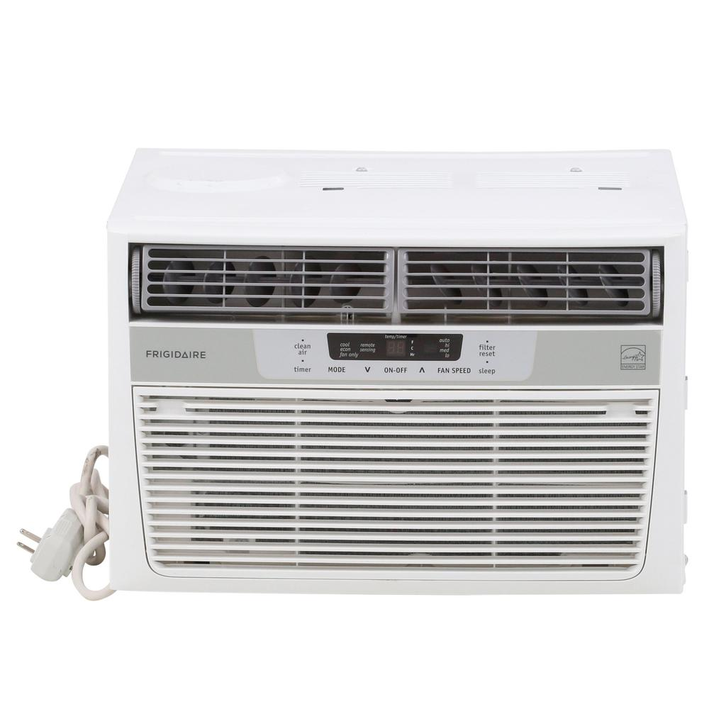 frigidaire 8 000 btu window air conditioner with remote energy star ffre0833s1 the home depot. Black Bedroom Furniture Sets. Home Design Ideas