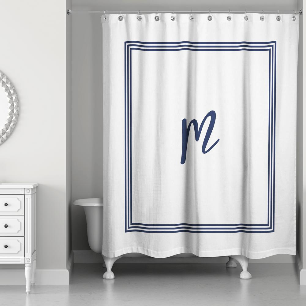 Blue - Shower Curtains - Shower Accessories - The Home Depot