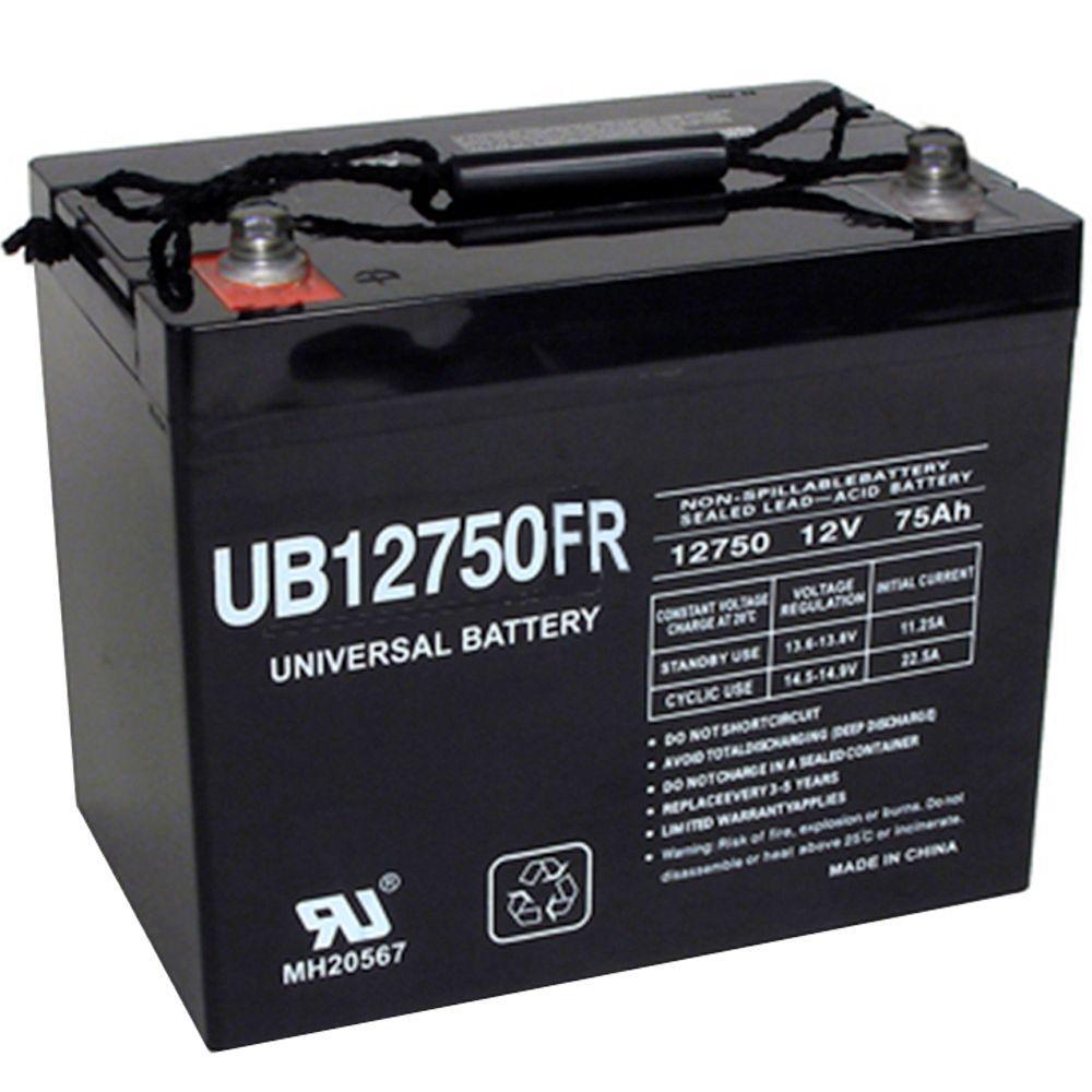 Upg Sla 12 Volt I4 Internal Threaded Post Battery