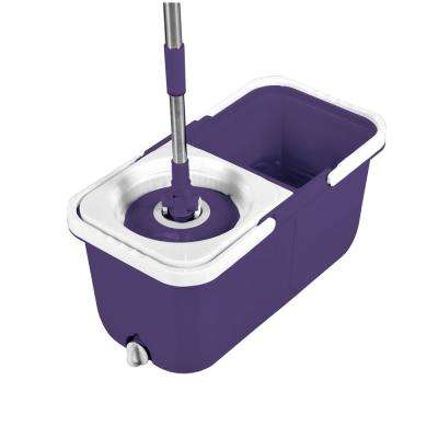 InstaMop The Spinning Action String Mop with Bucket