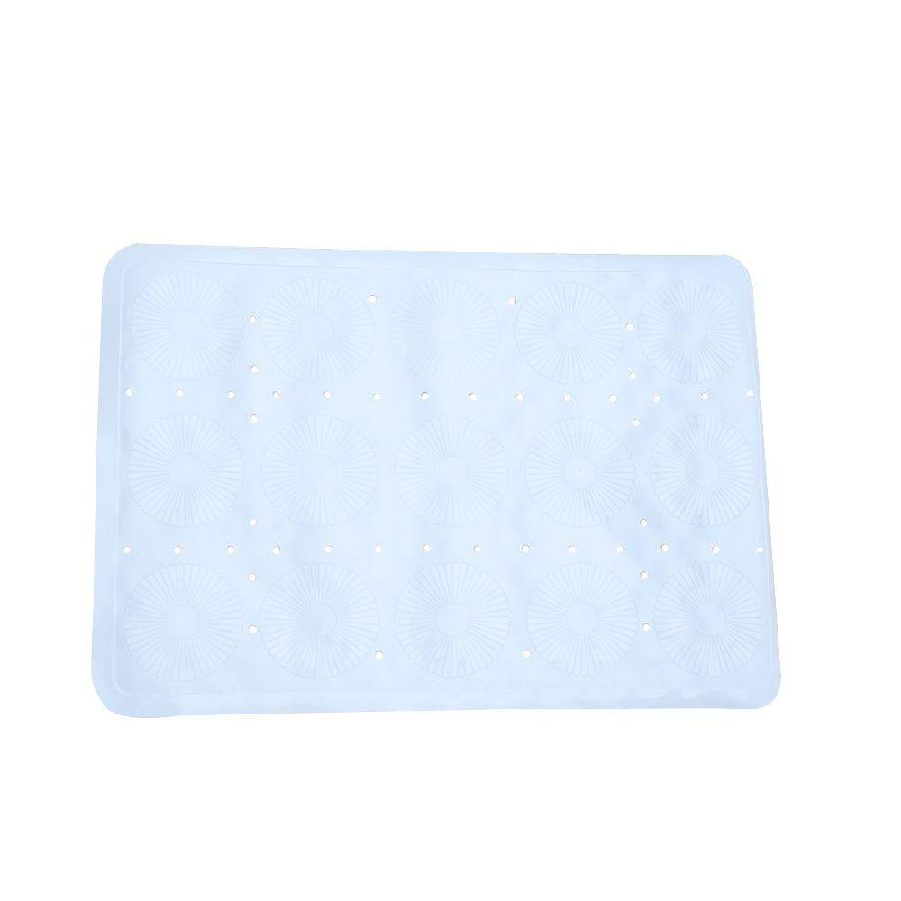 SlipX Solutions 17 in. x 25 in. Essential Bath Mat in White