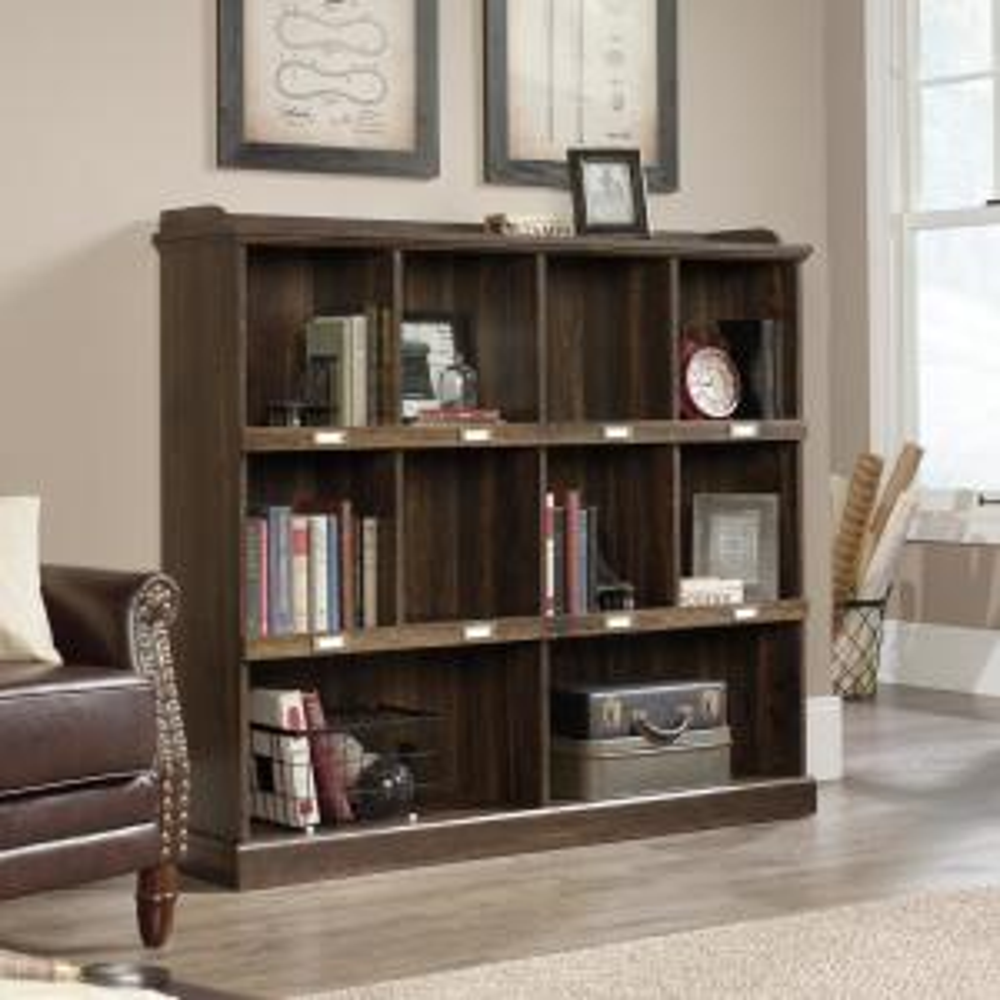 Barrister Lane Iron Oak Cubbyhole Bookcase