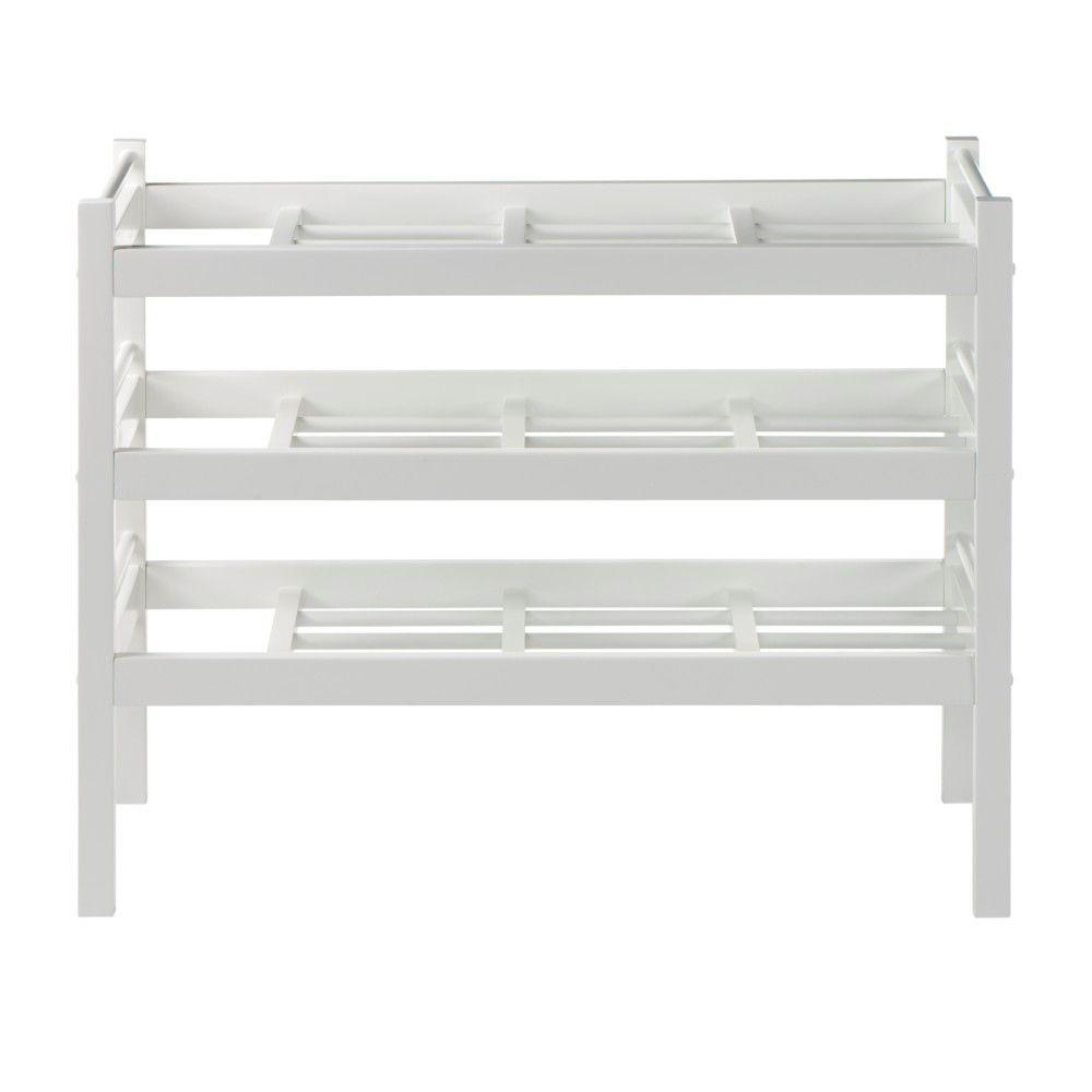 Martha Stewart Living Solutions Picket Fence 33 in. W Boot Rack