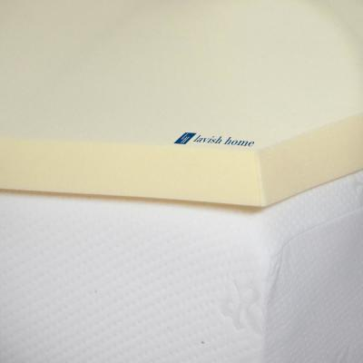 Natural 2 in. Memory Foam Mattress Topper
