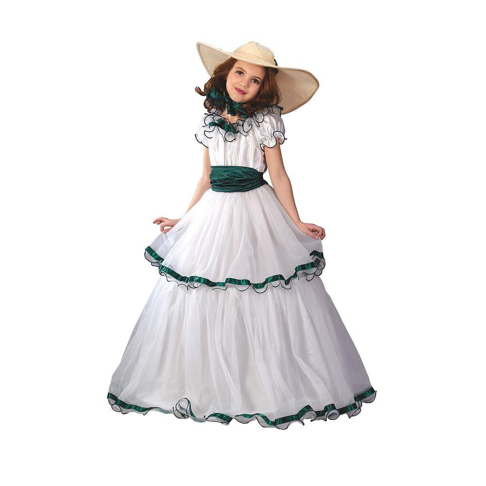 Fun World Southern Belle Child Costume Fw5934m The Home Depot