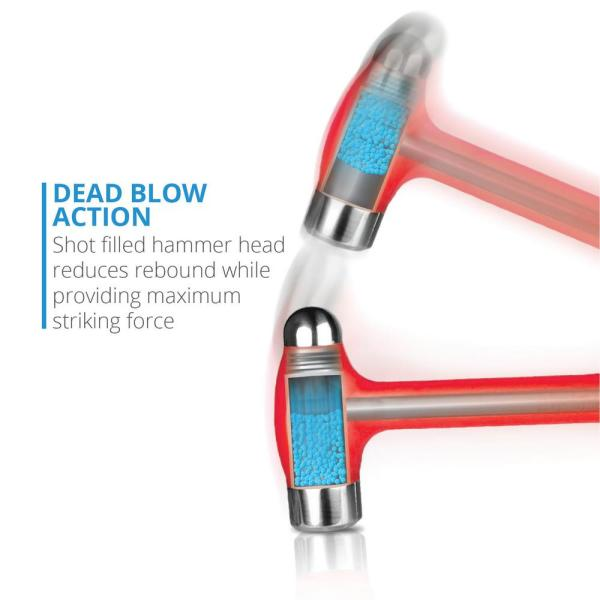 Capri Tools 36 Oz Dead Blow Ball Peen Hammer Cpdbhb36 The Home Depot Be the first to comment on this diy dead blow hammer, or add details on how to make a dead blow hammer! usd