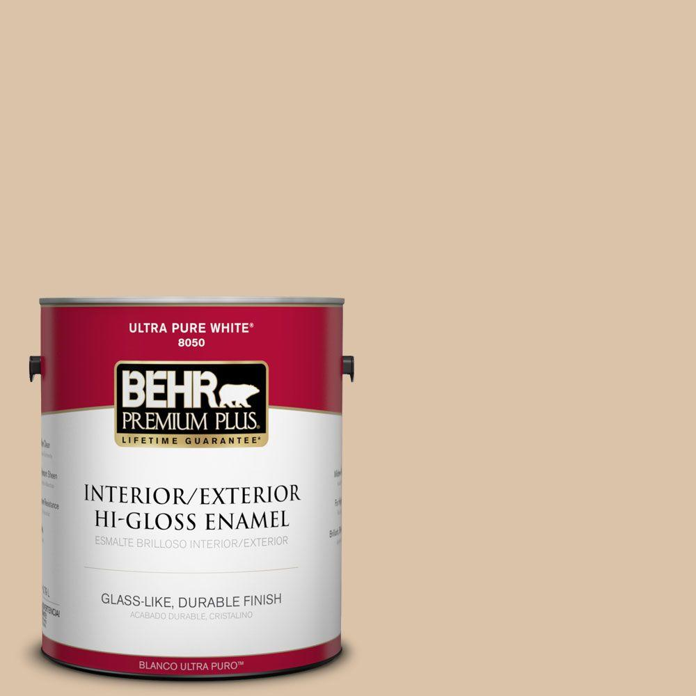 Home Decorators Collection 1-gal. #HDC-CT-06 Country Linens Hi-Gloss Enamel
