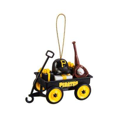 Pittsburgh Pirates 1-3/4 in. MLB Team Wagon Christmas Ornament