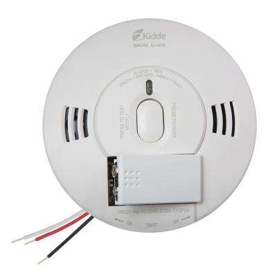 Hardwired 120-Volt TruSense Smoke Detector with Voice Alert