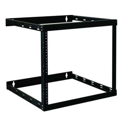 Wall Mount 2-Post Open Frame Rack Cabinet 8U/14U/22U Wallmount