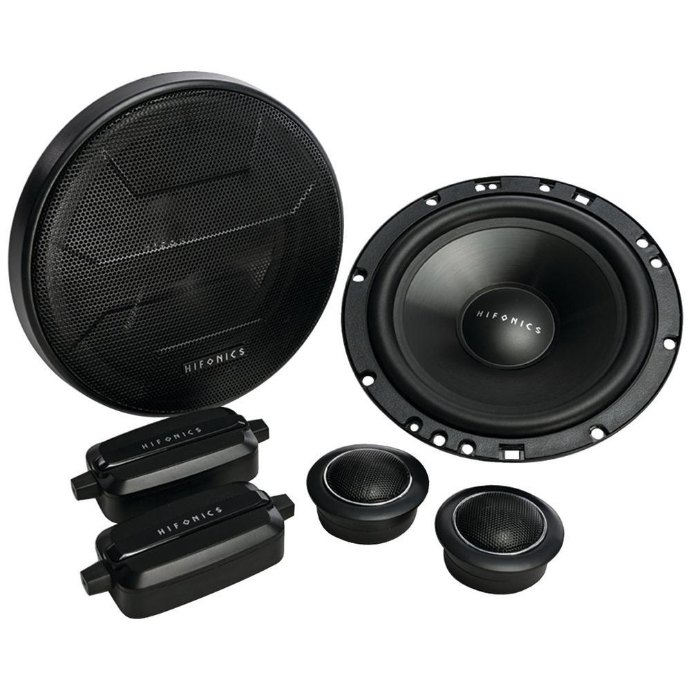 Hifonics ZS65C Zeus 6.5 Two-Way Component Speaker
