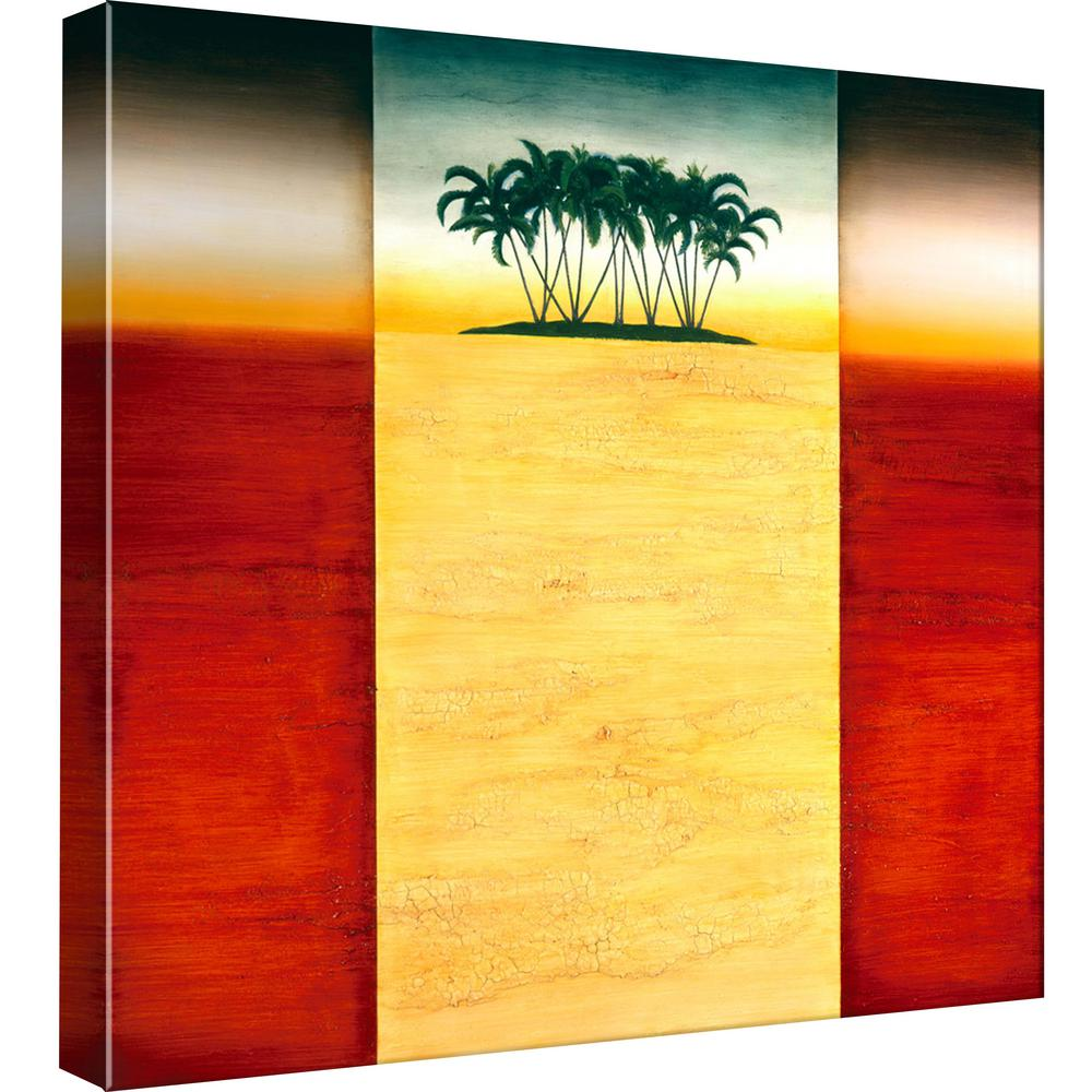 PTM Images 15.in x 15.in \'\'Atoll\'\' Printed Canvas Wall Art-9-99122 ...