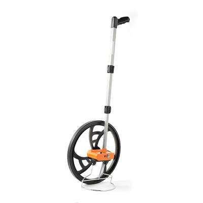 15-1/2 in. Measuring Wheel with Telescoping Handle - Measures in Feet & Inches (5 Digit Counter)