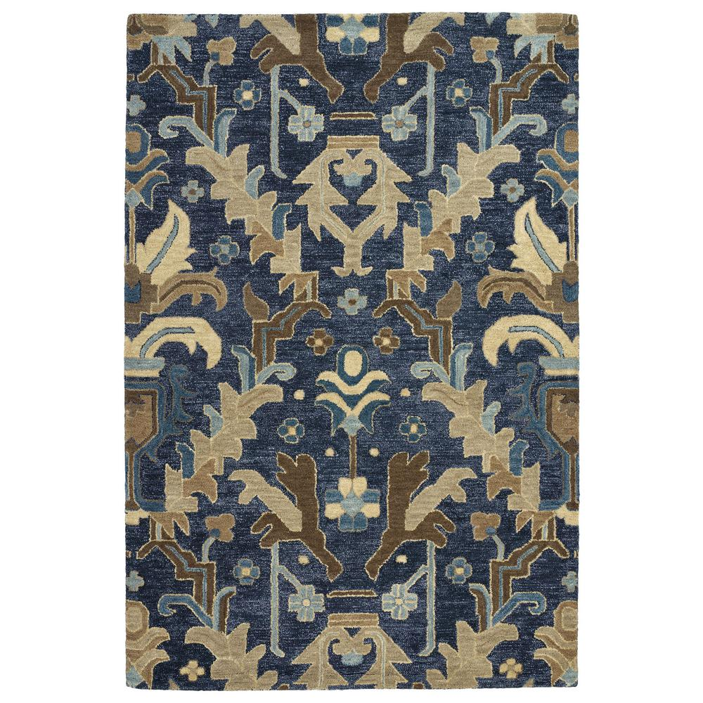 Brooklyn Navy 7 ft. 6 in. x 9 ft. Area Rug