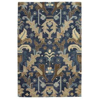 Brooklyn Navy 8 ft. x 11 ft. Area Rug