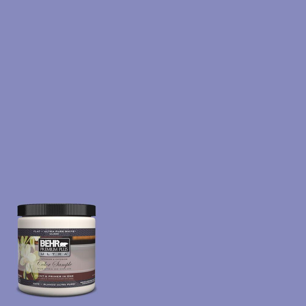BEHR Premium Plus Ultra 8 oz. #620B-5 Pristine Petal Interior/Exterior Paint Sample