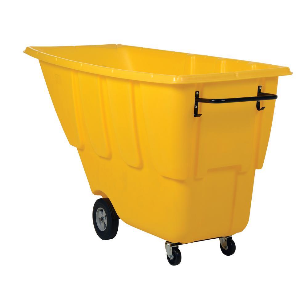 1 cu. yds. Light Duty Tilt Truck - Yellow