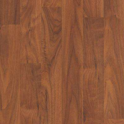 Take Home Sample - Willow Creek Collection Amber Walnut Laminate Flooring - 5 in. x 7 in.