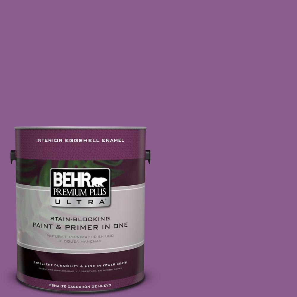 BEHR Premium Plus Ultra 1-gal. #P100-6 Chakra Eggshell Enamel Interior Paint