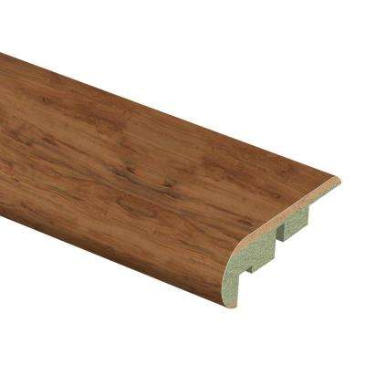 Applewood 3/4 in. Thick x 2-1/8 in. Wide x 94 in. Length Laminate Stair Nose Molding