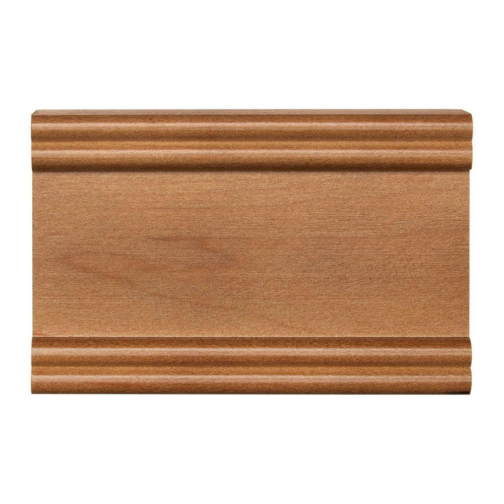 4 in. x 2-1/2 in. Cabinet Door Sample in Maple Spice