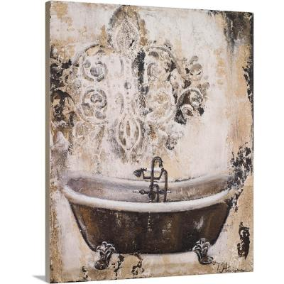 """""""Bronze Bath I"""" by  Tiffany Hakimipour Canvas Wall Art"""