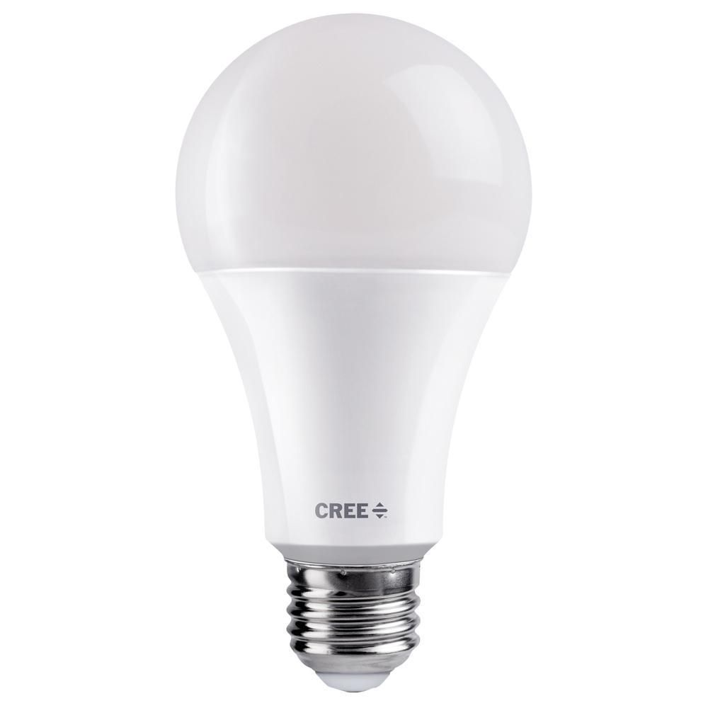 Cree 40w 60w 100w Equivalent Soft White 2700k A21 3 Way Exceptional Light Quality Led Light Bulb