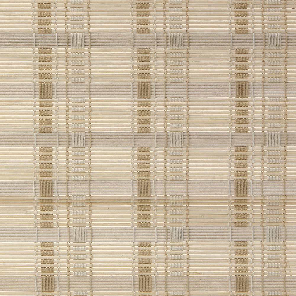 home decorators collection 72 in. w x 72 in. l white washed reed
