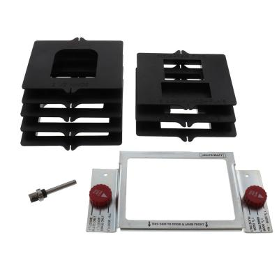 HingeMate300 Ready to Use Drop-in Door Hinge Template System for Routing Hinge, Strike and Latch Plate Mortises
