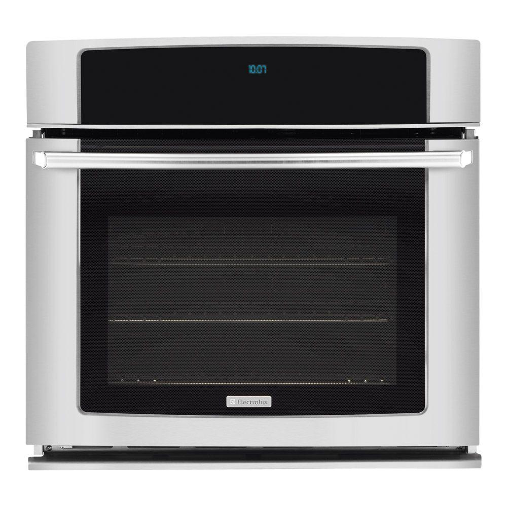Electrolux 27 in. Single Electric Wall Oven Self-Cleaning with Convection in Stainless Steel-DISCONTINUED