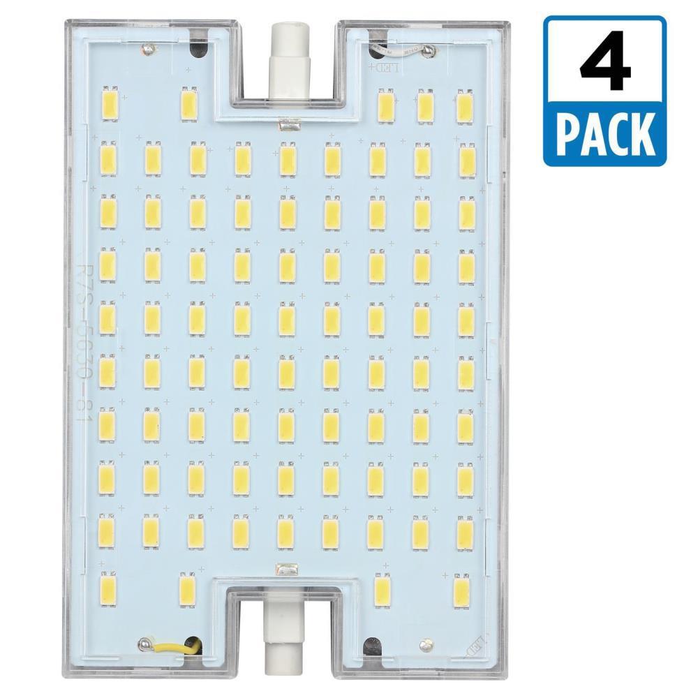 150W Equivalent Soft White Double-Ended LED Light Bulb (4-Pack)