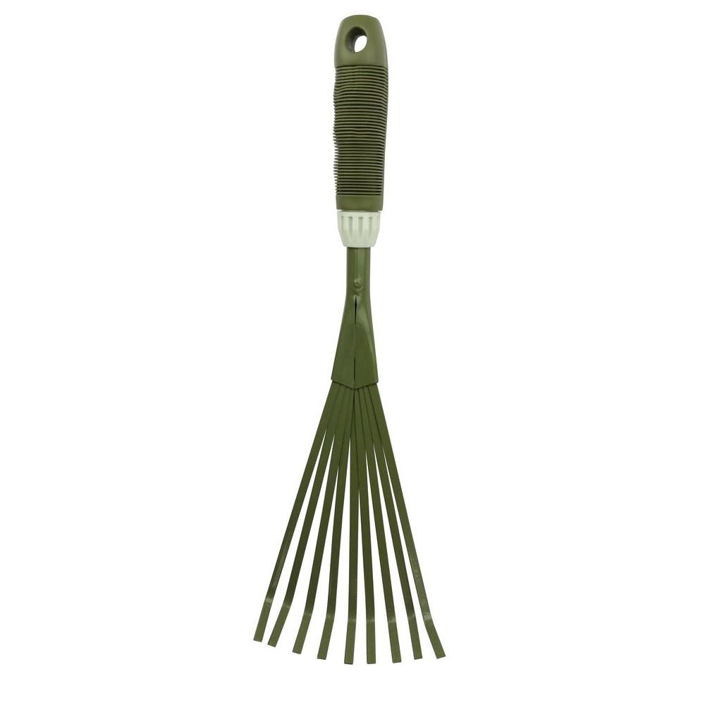 Worth Garden Garden Hand Carbon Steel 9-Teeth Broom