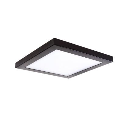 Square Slim Disk Length 13 in. Bronze Square Fixture New Construction Recessed Integrated Led Trim Kit