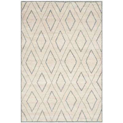 Stone Wash Beige/Gray 5 ft. x 8 ft. Area Rug