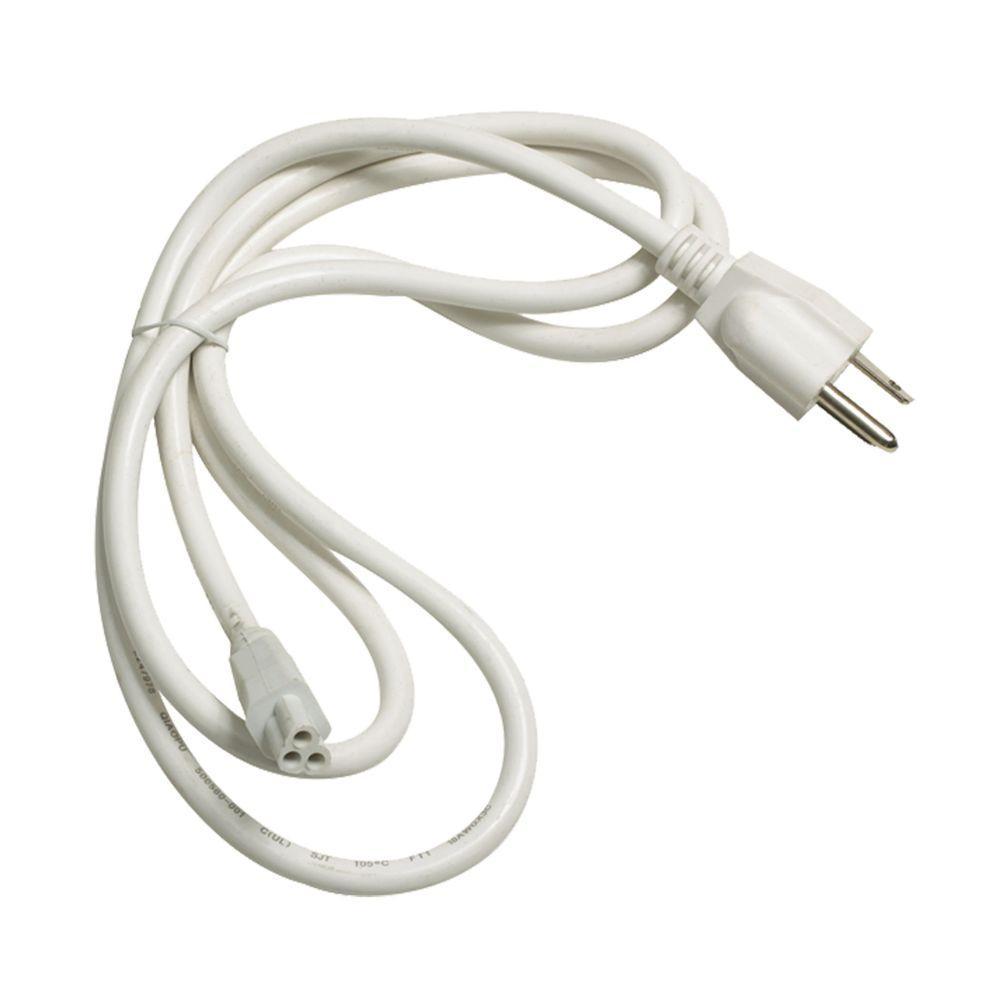 Aurora White Cord and Plug