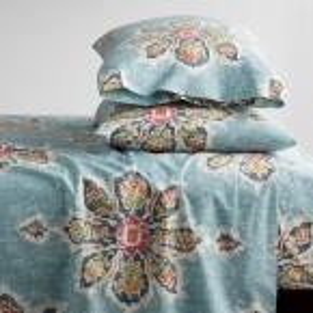 Serafina 3-Piece 200-Thread Count Cotton Percale Twin Sheet Set