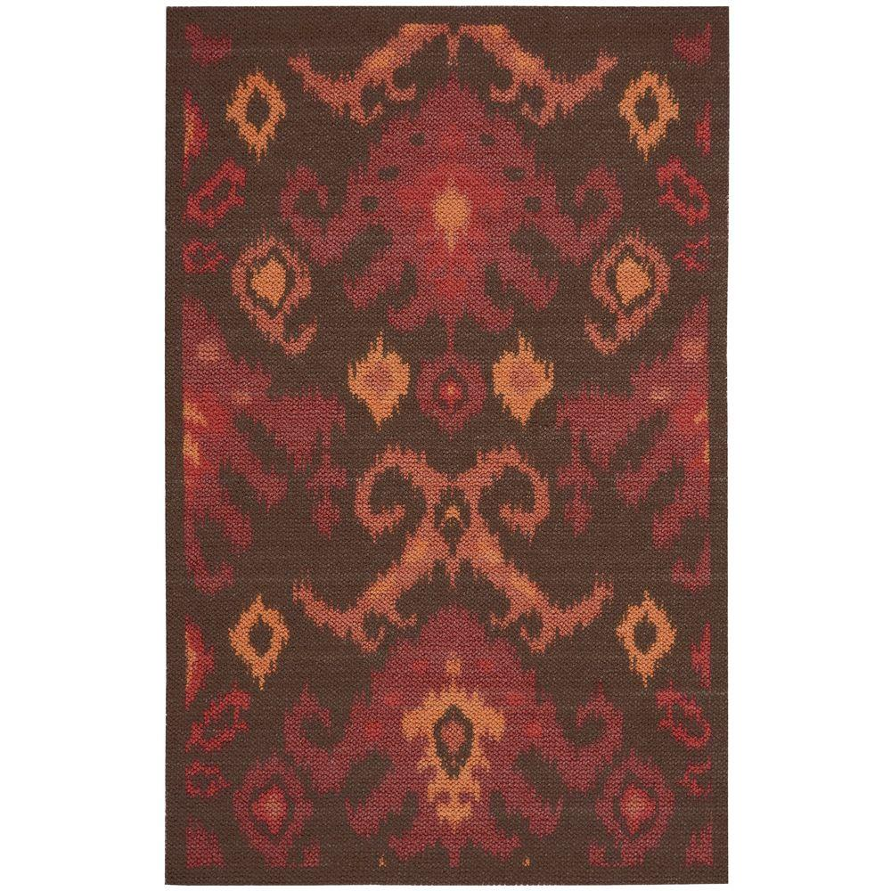 Nourison Overstock Vista Brown 2 ft. 6 in. x 4 ft. Accent Rug